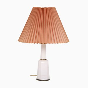 Medium-Sized Vintage Heiberg Table Lamp with Shade from Søholm
