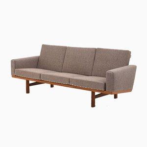Vintage GE 236 3-Sitzer Sofa von Hans J. Wegner für Getama