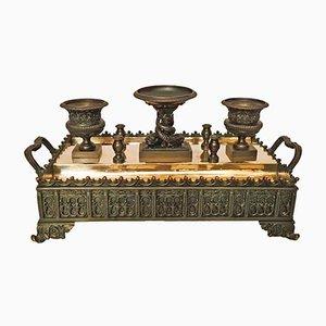 Bronze Inkstand / Inkwell, 1820s
