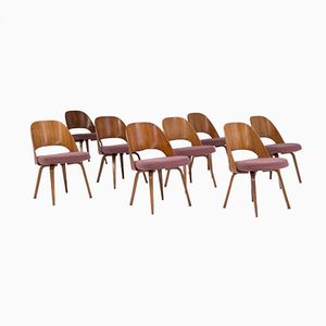 Dining Chairs by Eero Saarinen for De Coene, 1958, Set of 8