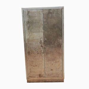 Mid-Century Industrial Style Metal Kitchen Cabinet