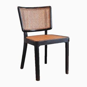 Schwarzer Nr. B22 Stuhl von Thonet, 1930er