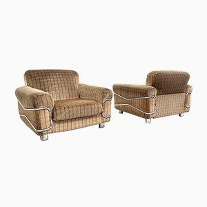 Wopps Lounge Chairs by Radaelli for Seven Salotti, 1970s, Set of 2