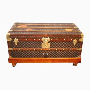 Damier Steamer Trunk with Checkered Pattern from Louis Vuitton