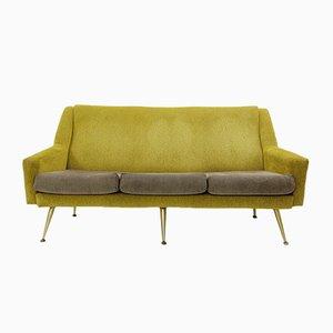 Italian 2-Tone 3-Seat Sofa, 1950s