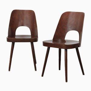 Chairs by Oswald Haerdtl for TON, 1960s, Set of 2