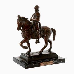 Bartolomeo Colleoni Bronze Sculpture