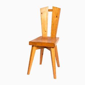 Tisch, Stühle & Hocker von Christian Durupt für Charlotte Perriand, 5er Set