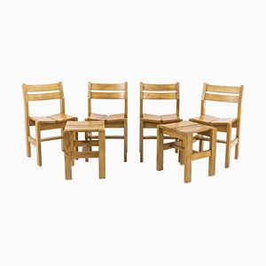 Chairs & Hools Set von Charlotte Perriand