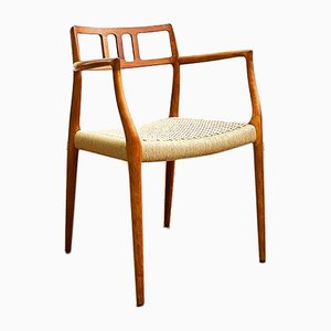 Danish Teak Armchair by Niels Otto Møller for J. L. Møllers, 1960s