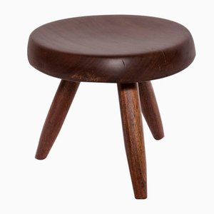 Vintage Berger Stool by Charlotte Perriand