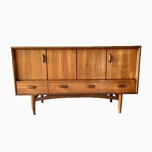Vintage Teak Sideboard with Double Doors from G-Plan