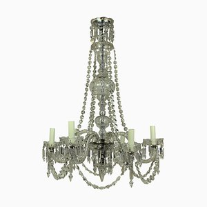 Antique English Cut Glass Chandelier