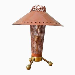 Italienische Sputnik Tischlampe, 1950er