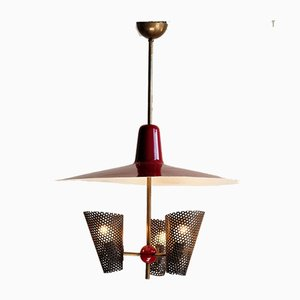Vintage 3-Light Pendant Lamp from DekaLux