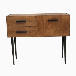 Small Sideboard with Door & Two Drawers, 1960s
