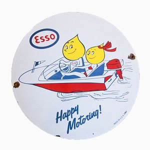 Vintage Promotional Plaque from ESSO