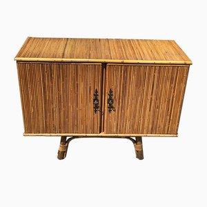 Split Bamboo Sideboard by Adrien Audoux & Frida Minet, 1950s