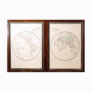 Etchings by J. Andriveau, Set of 2