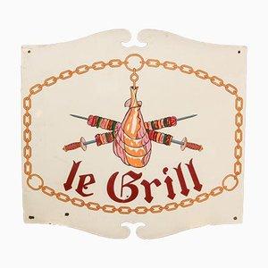 Vintage Le Grill Schild