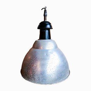 Large Vintage Industrial Pendant Lamp