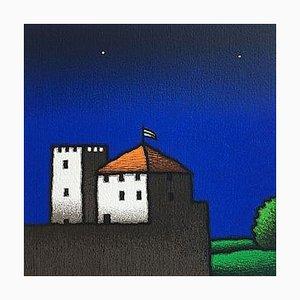 Tino Stefanoni, Casa e Torre, Colored Screenprint
