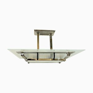 French Ceiling Lamp by Petitot, 1930s