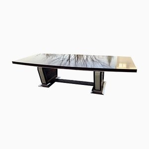 French Art Deco Dining Table / Conference Table, 1930s