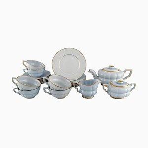 Art Deco Tea Service Set by Percy for Upsala-Ekeby / Gefle, Set of 21