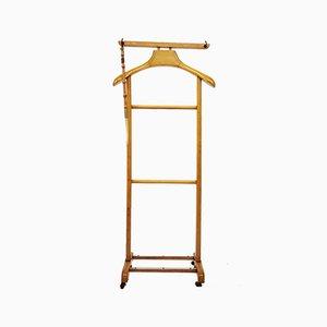 Standing Pale Beech Floor Valet or Hanger, 1960s