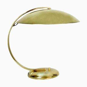 Art Deco Schreibtisch oder Tischlampe aus Messing von Hillebrand, 1930er