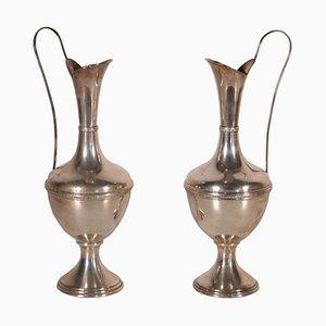 Vasi argentati, set di 2
