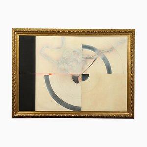 Enrico Scippa, tecnica mista su tela