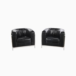 Club Chairs from Zanotta, Set of 2
