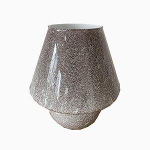 Mushroom Glass Lamp, 1970s
