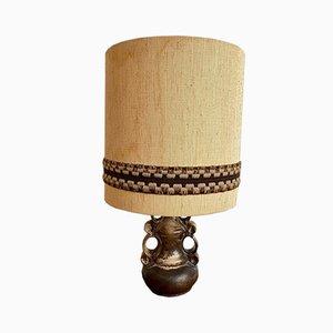 Lampe de Bureau avec Pied en Céramique, 1970s