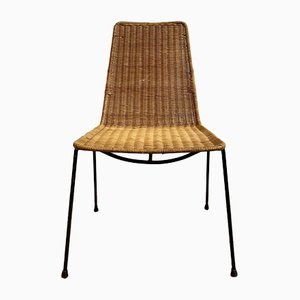 Mid-Century Basket Chair in the Style of Gian Franco Legler