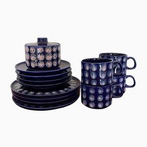 Ceramic Coffee Set, Set of 20