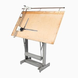 Architectural Drafting Table/Drawing Table, Italy, 1950s