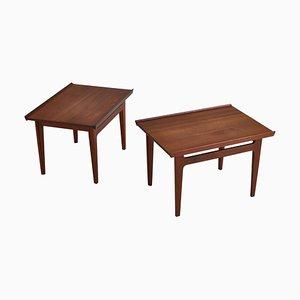 Tavolini modello 535 in teak di Finn Juhl per France & Son, 1959, set di 2