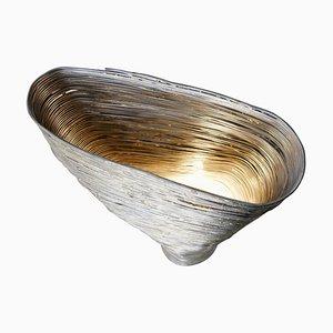 Wrap Beech Steel Table Light by Johannes Hemann