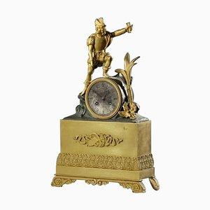 Restoration Period Gilt Bronze Clock