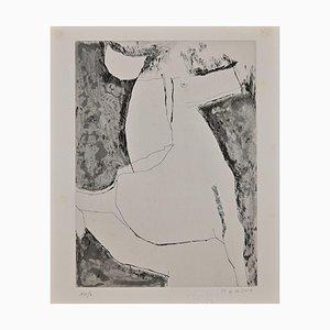 Marino Marini, The Horse, Etching, Mid-20th Century