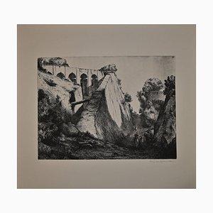 Lino Bianchi Barriviera, Lalibela, Radierung, 1939
