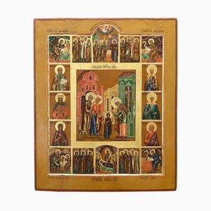 Icon 12 Principal Christian Feast