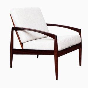 Paper Knife Chair aus Palisander von Kai Kristiansen für Magnus Olesen, 1960er