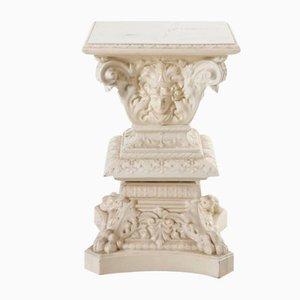 Glazed Ceramic Pedestal