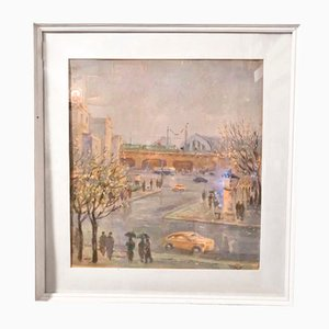 Watercolor Riga