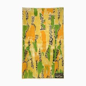 Gelb Orange Grün Schwarz von Zeki Muran, 1960er