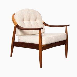Afromosia Lounge Stuhl von Greaves & Thomas, 1960er